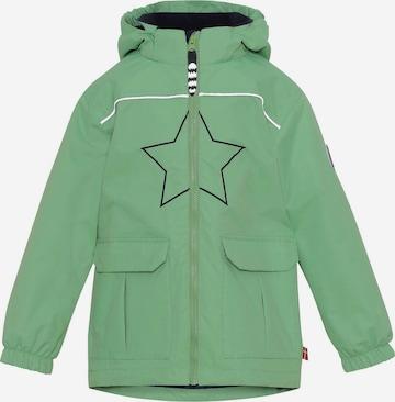 Veste fonctionnelle 'Robert' Racoon Outdoor en vert