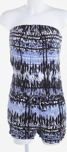 ONLY Jumpsuit in S in blau / schwarz / weiß, Produktansicht