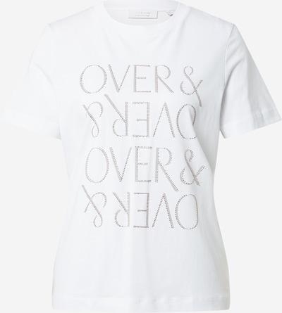 Maglietta Rich & Royal di colore grigio / argento / offwhite, Visualizzazione prodotti