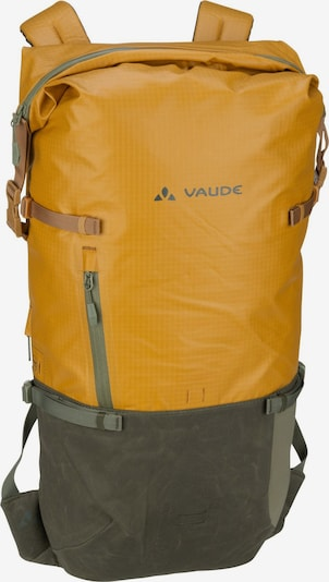 VAUDE Rucksack 'CityGo 23' in gelb / khaki, Produktansicht