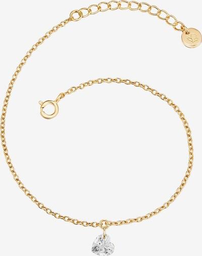Glanzstücke München Silber-Armband in goldgelb, Produktansicht