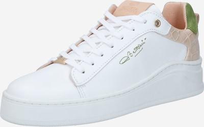 Fred de la BretoniÈre Sneaker in sand / hellgrün / weiß, Produktansicht