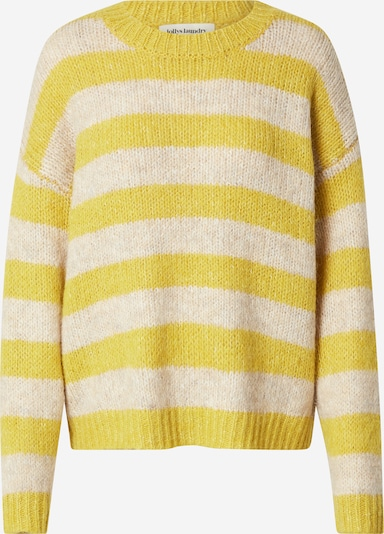 Lollys Laundry Pullover 'Terry' in nude / gelb, Produktansicht