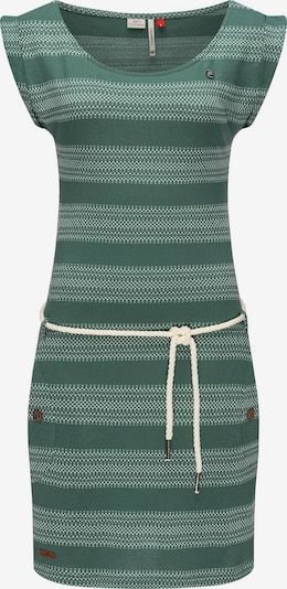 Ragwear Sommerkleid in tanne / hellgrün / weiß, Produktansicht
