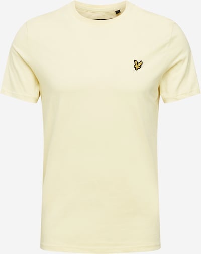 Lyle & Scott Shirt in de kleur Pasteelgeel, Productweergave