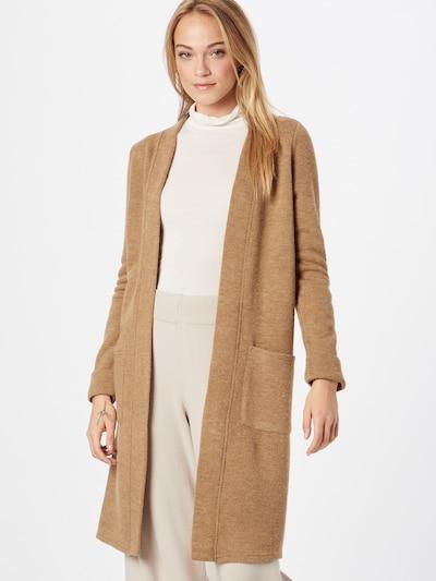 VERO MODA Knit Cardigan 'YLDA' in Sepia, View model