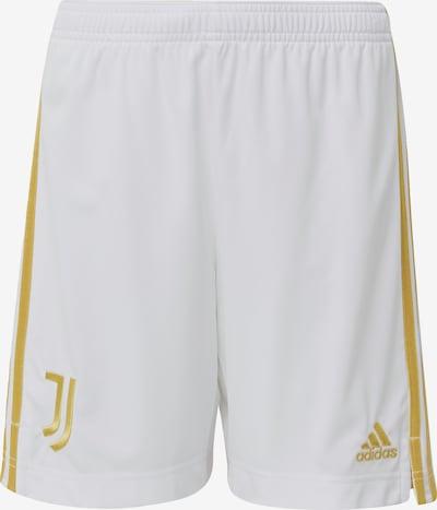 ADIDAS PERFORMANCE Shorts 'Juventus Turin' in goldgelb / weiß, Produktansicht