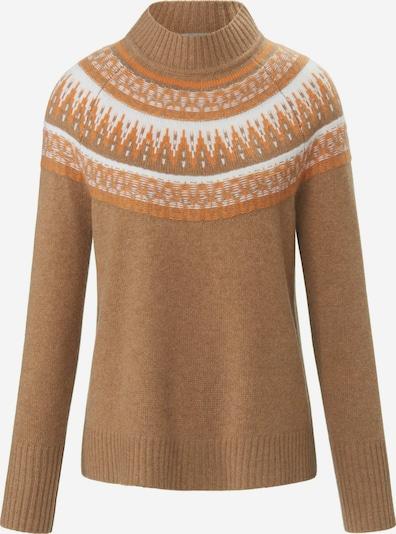 include Pullover aus 100% Premium-Kaschmir in braun, Produktansicht