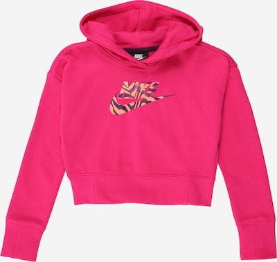 Megztinis be užsegimo iš Nike Sportswear , spalva - tamsiai mėlyna / uogų spalva / lašišų spalva, Prekių apžvalga
