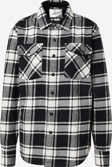 REPLAY Bluse in schwarz / weiß, Produktansicht