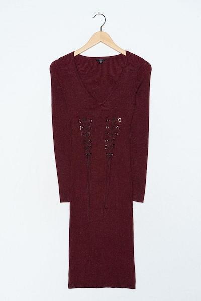 GUESS Kleid in S-M in burgunder, Produktansicht