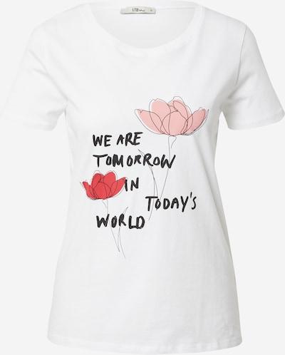 rózsaszín / piros / fekete / fehér LTB Póló 'DAWOLI', Termék nézet