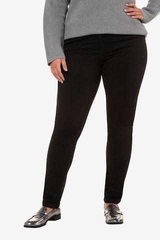 Ulla Popken Jeans in Zwart