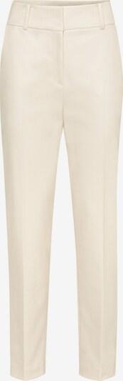 HALLHUBER High-Waist-Hose mit Bügelfalten in beige, Produktansicht