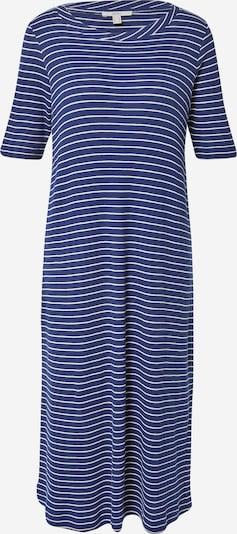 ESPRIT Kleid in dunkelblau / weiß, Produktansicht