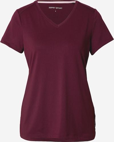 ESPRIT SPORT Funkční tričko - bordó, Produkt