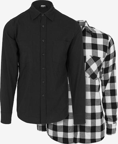 Urban Classics Košeľa - dymovo šedá / čierna / biela, Produkt
