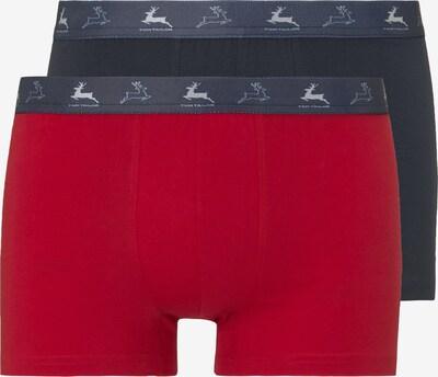 TOM TAILOR Boxershorts in rot / schwarz, Produktansicht