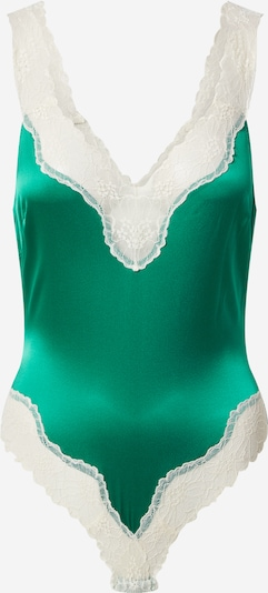 Stella McCartney Body 'KITTY CATCHING' in de kleur Groen / Wit, Productweergave