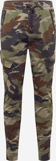 HOLLISTER Kargo bikses brūns / haki / melns, Preces skats