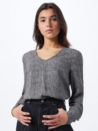 ONLY Bluse 'ESTER' in mischfarben / schwarz, Modelansicht
