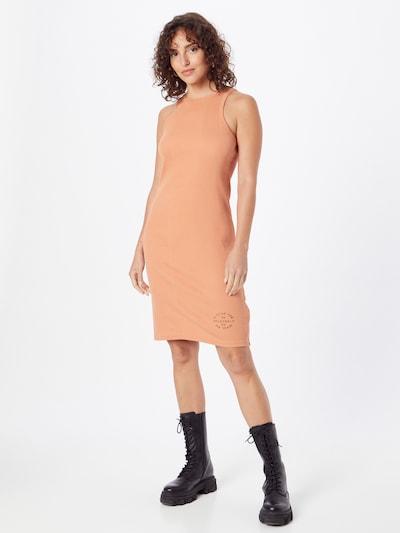 G-Star RAW Kleid in orange / schwarz, Modelansicht
