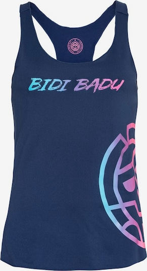 BIDI BADU Top 'Hanja Basic Logo' in dunkelblau, Produktansicht