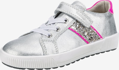 RICHTER Sneaker in grau / pink, Produktansicht