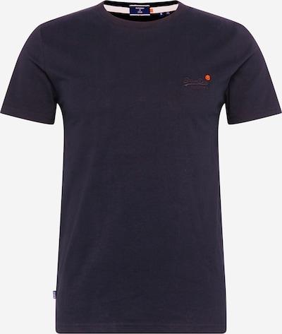 Superdry T-Shirt en noir: Vue de face