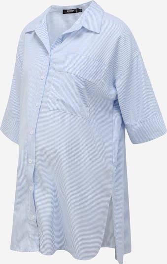 Missguided Maternity Kleid in hellblau / weiß, Produktansicht