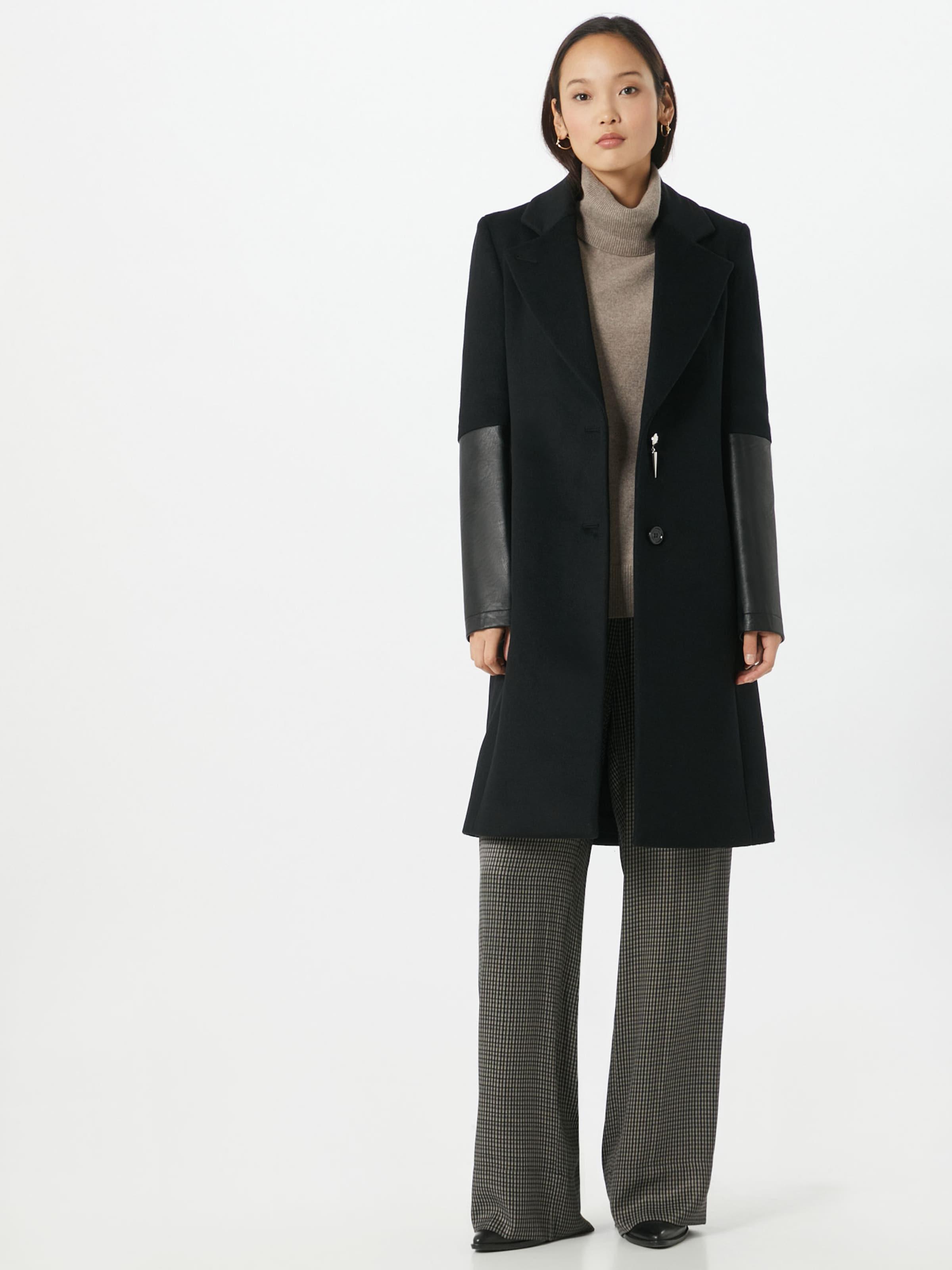 PATRIZIA PEPE Átmeneti kabátok fekete színben