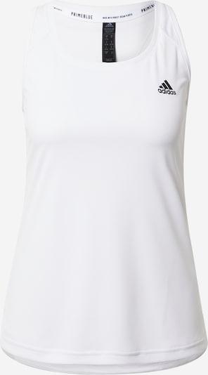 ADIDAS PERFORMANCE Top sportowy 'DESIGNED2MOVE' w kolorze czarny / białym, Podgląd produktu