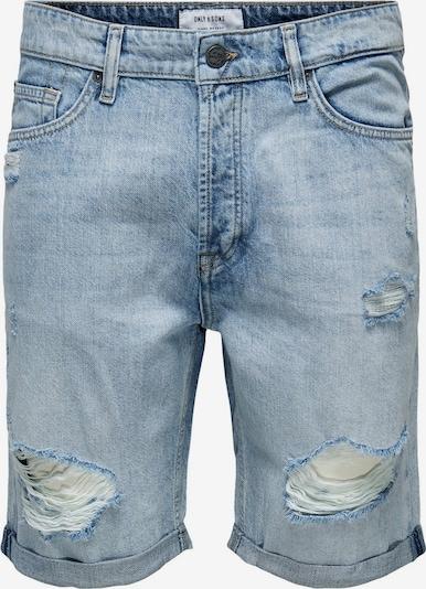 Only & Sons Jeans 'AVI' in de kleur Lichtblauw, Productweergave