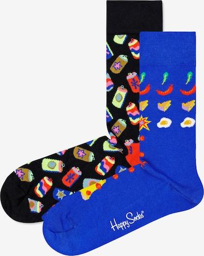 Happy Socks Skarpety w kolorze niebieska noc / królewski błękit / limonkowy / jasnoczerwony / białym, Podgląd produktu