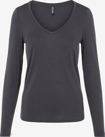 PIECES Shirt 'Kamala' in dunkelgrau, Produktansicht