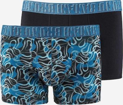 BRUNO BANANI Boxershorts in de kleur Hemelsblauw / Donkerblauw / Petrol / Wit, Productweergave
