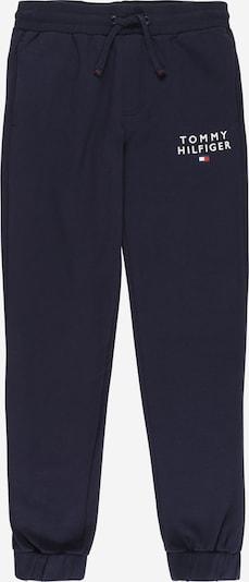 TOMMY HILFIGER Pantalon en bleu marine / rouge / blanc, Vue avec produit