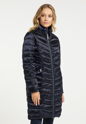 DreiMaster Klassik Between-Seasons Coat in Blue