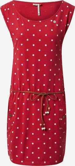 Ragwear Kleid in rot / weiß, Produktansicht