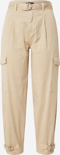 Stitch and Soul Pantalon cargo en beige, Vue avec produit