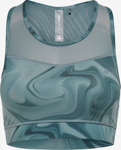 ONLY PLAY Meshdetail Sport-BH in aqua, Produktansicht