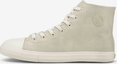 TOM TAILOR DENIM Sneaker in beige, Produktansicht
