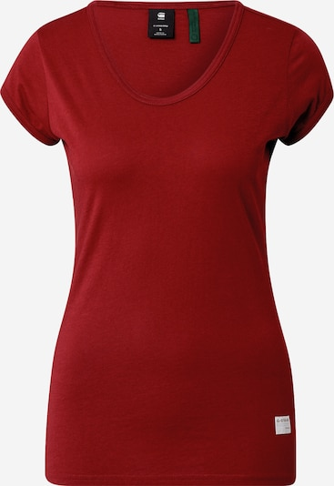 G-Star RAW T-Shirt in rot, Produktansicht