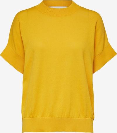 SELECTED FEMME Chemisier 'Maja' en jaune d'or, Vue avec produit