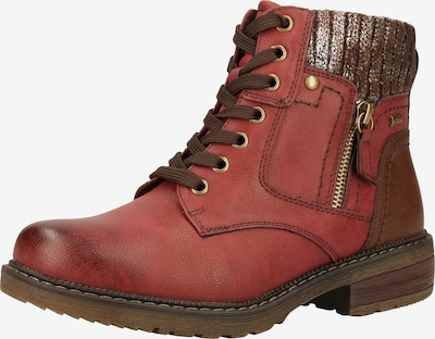 Relife Stiefelette in rot, Produktansicht