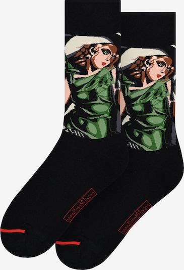 MuseARTa Socken in mischfarben / schwarz, Produktansicht