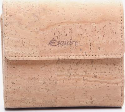 Esquire Geldbörse in beige, Produktansicht