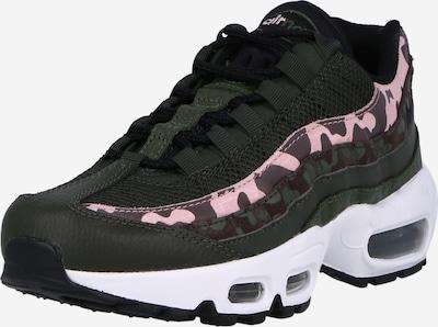 Nike Sportswear Trampki niskie w kolorze ciemnobrązowy / różowy / czarnym, Podgląd produktu