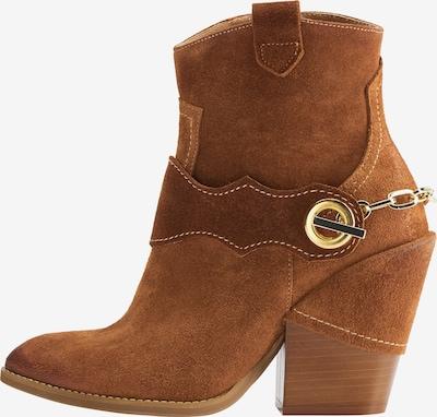 IZIA Cowboy Stiefelette in braun, Produktansicht
