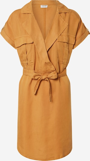 Noisy may Blousejurk 'NMVERA S/S ENDI TENCEL SHIRT DRESS CLR' in de kleur Bruin, Productweergave